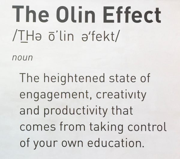 "Making ""The Olin Effect"" Your Own"